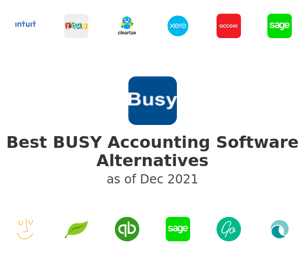 Best BUSY Accounting Software Alternatives