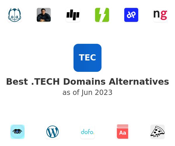 Best .TECH Domains Alternatives