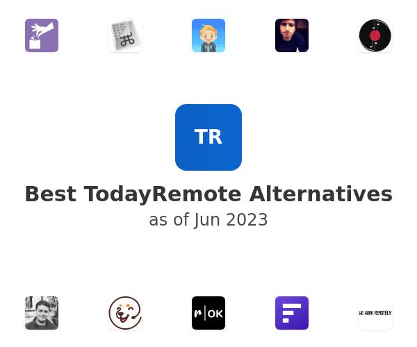 Best TodayRemote Alternatives