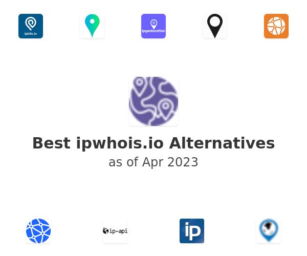 Best ipwhois.io Alternatives