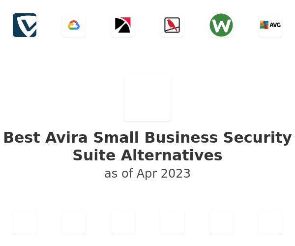 Best Avira Small Business Security Suite Alternatives