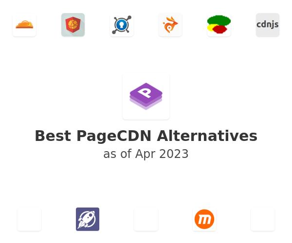 Best PageCDN Alternatives
