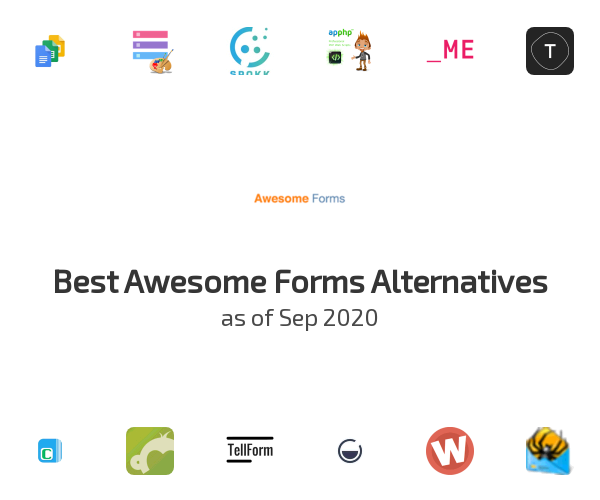 Best Awesome Forms Alternatives