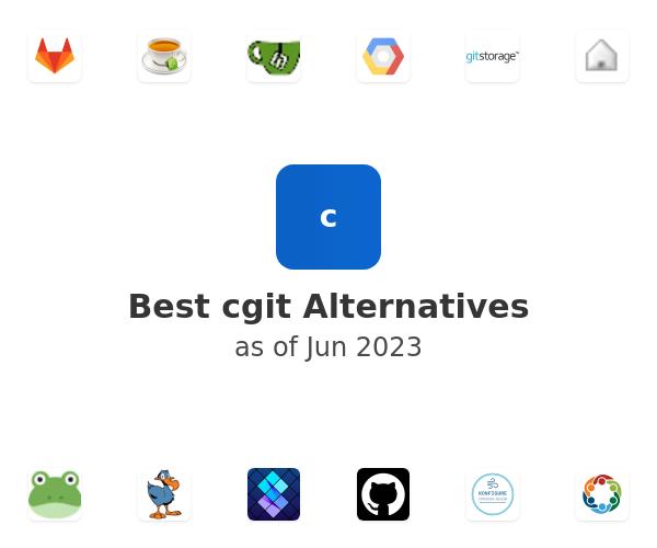 Best cgit Alternatives