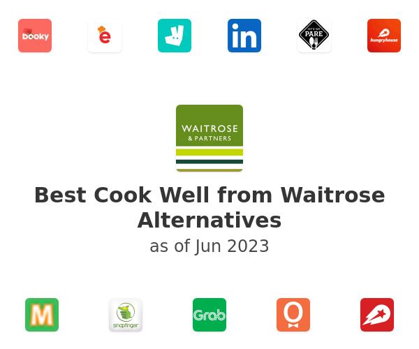 Best Cook Well from Waitrose Alternatives