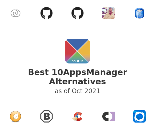 Best 10AppsManager Alternatives