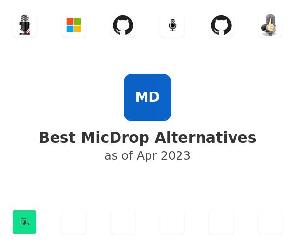 Best MicDrop Alternatives
