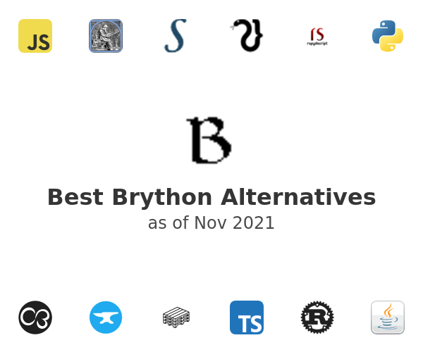 Best Brython Alternatives