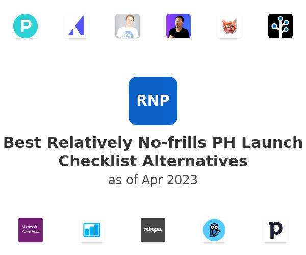 Best Relatively No-frills PH Launch Checklist Alternatives