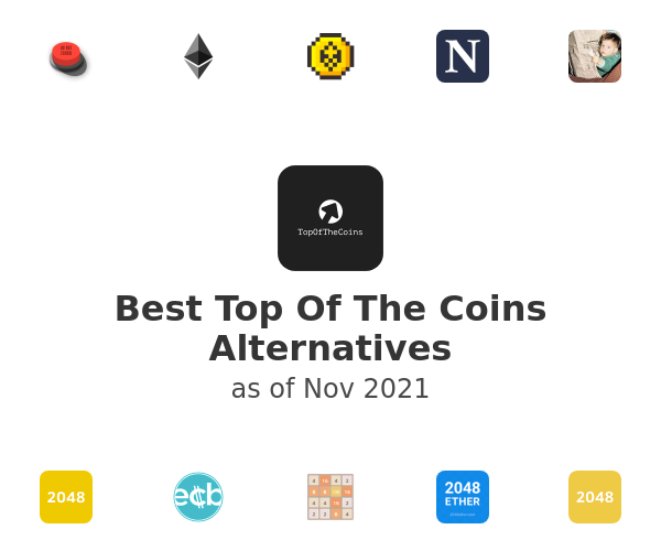 Best Top Of The Coins Alternatives