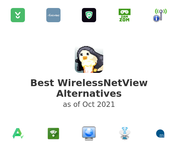 Best WirelessNetView Alternatives