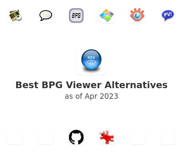 Best BPG Viewer Alternatives