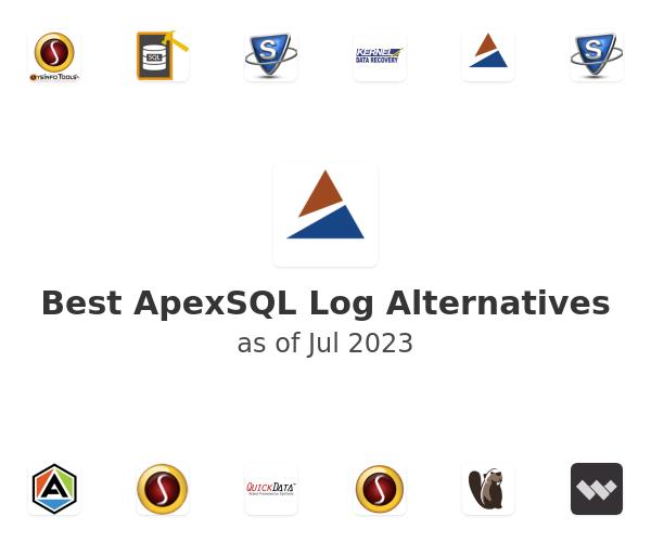Best ApexSQL Log Alternatives