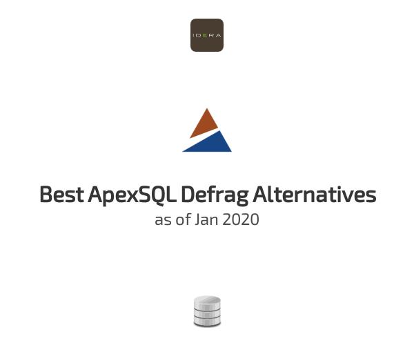 Best ApexSQL Defrag Alternatives