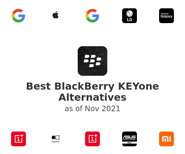 Best BlackBerry KEYone Alternatives