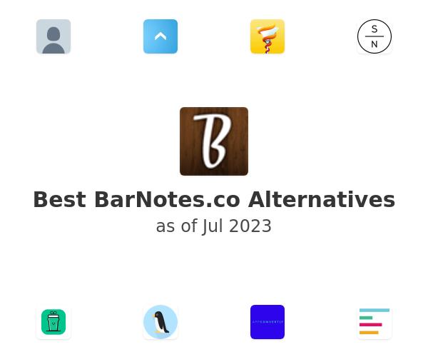 Best BarNotes Alternatives