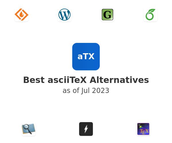 Best asciiTeX Alternatives