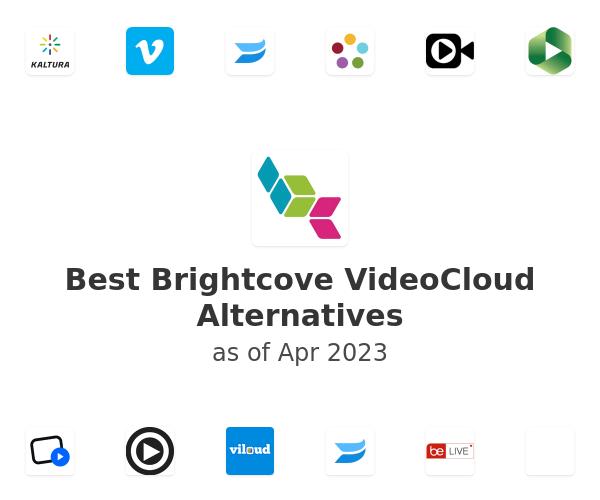 Best Brightcove VideoCloud Alternatives