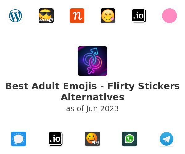 Best Adult Emojis - Flirty Stickers Alternatives