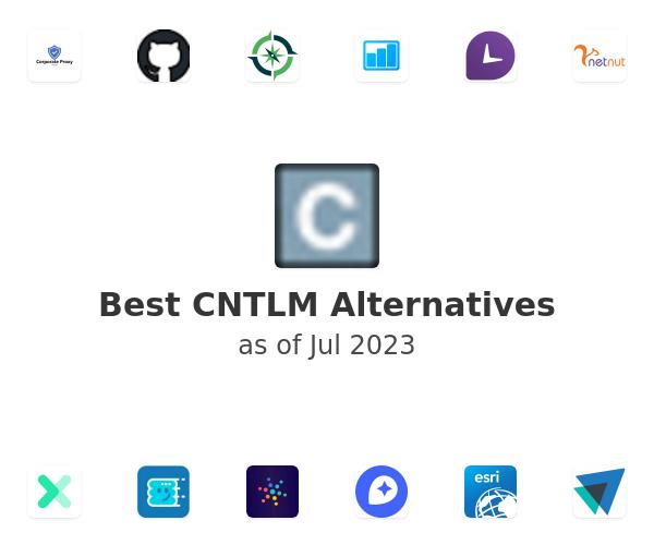 Best CNTLM Alternatives