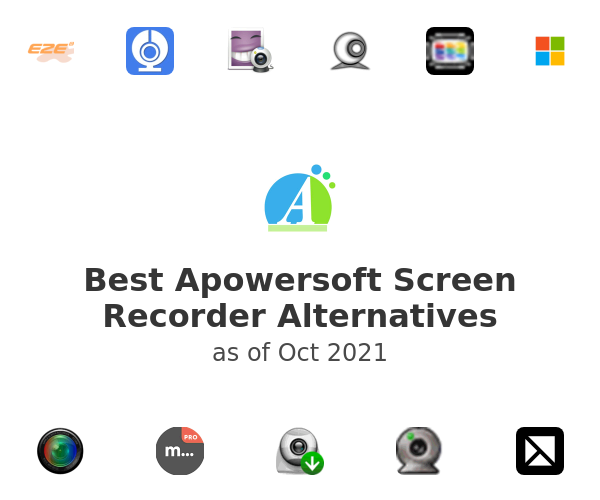 Best Apowersoft Screen Recorder Alternatives
