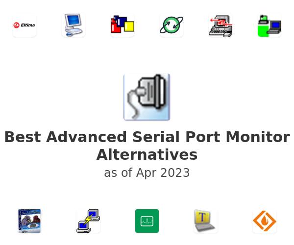 Best Advanced Serial Port Monitor Alternatives