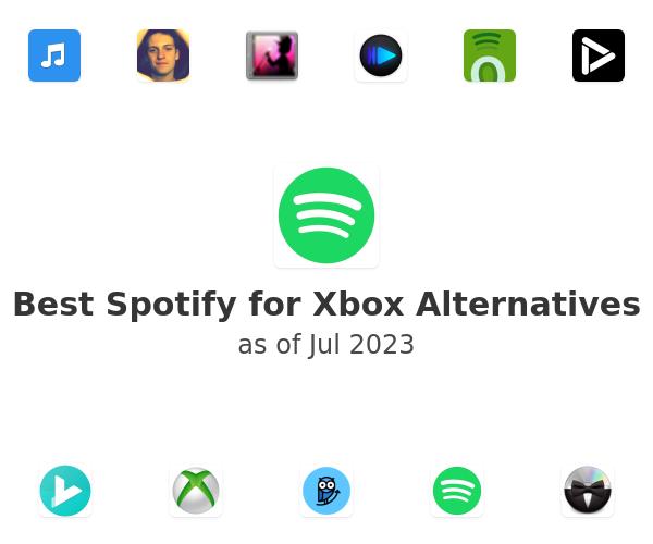 Best Spotify for Xbox Alternatives