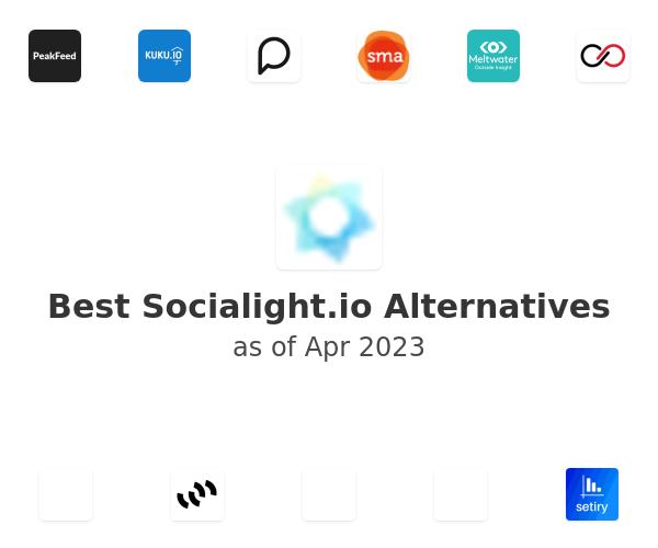 Best Socialight.io Alternatives
