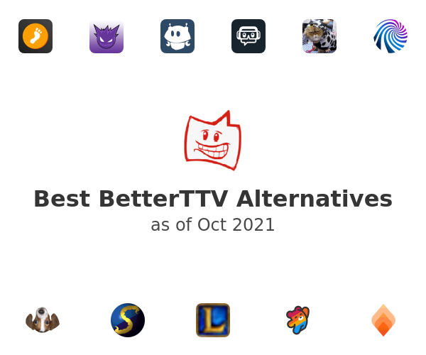 Best BetterTTV Alternatives