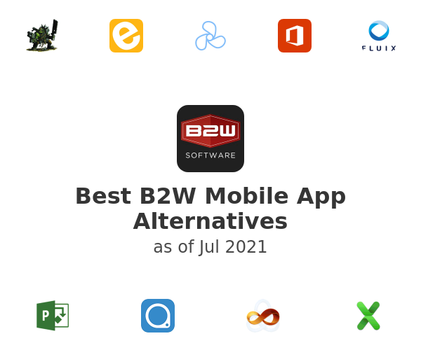 Best B2W Mobile App Alternatives