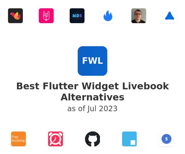 Best Flutter Widget Livebook Alternatives