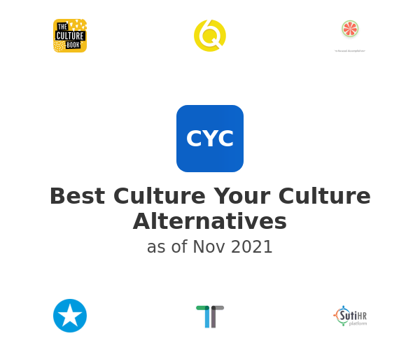 Best Culture Your Culture Alternatives