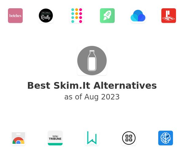 Best Skim.It Alternatives