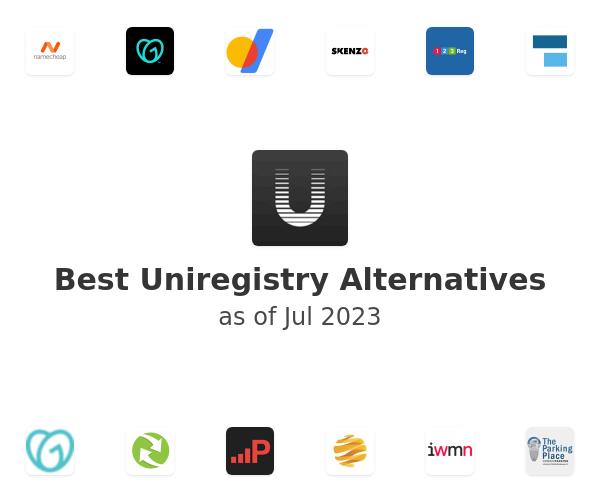 Best Uniregistry Alternatives