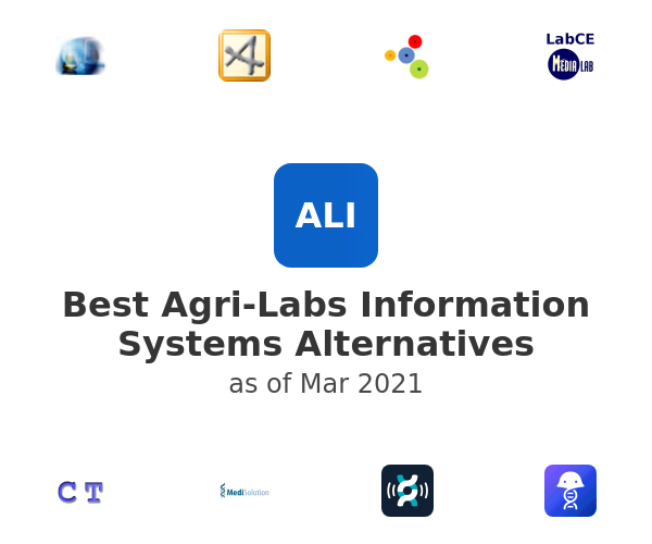 Best Agri-Labs Information Systems Alternatives