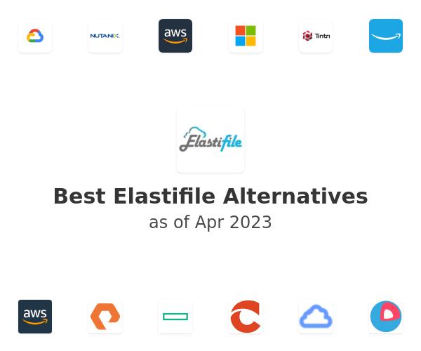 Best Elastifile Alternatives