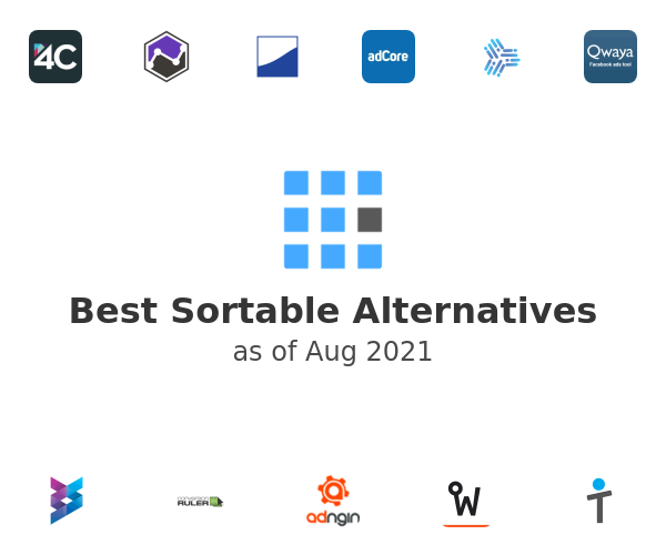 Best Sortable Alternatives