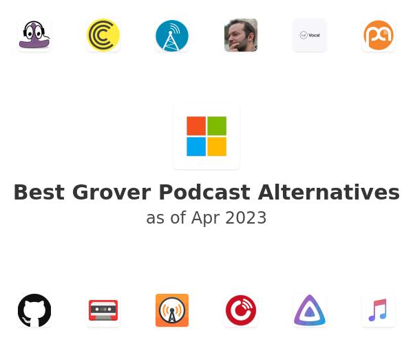 Best Grover Podcast Alternatives