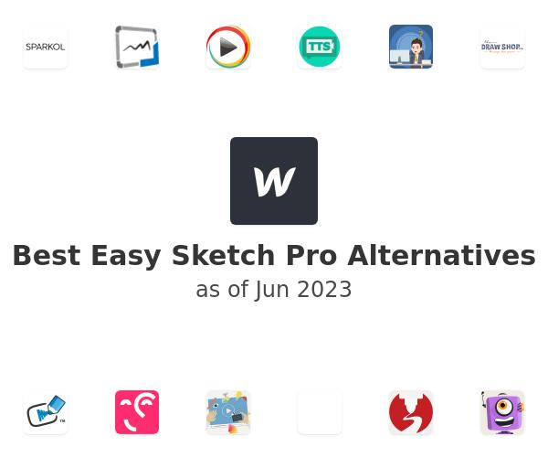 Best Easy Sketch Pro Alternatives
