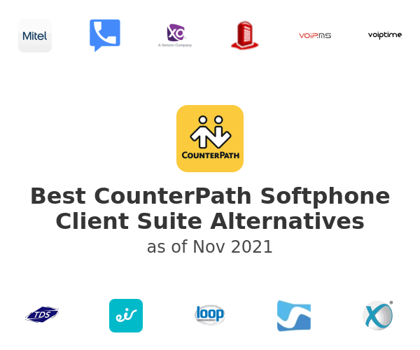 Best CounterPath Softphone Client Suite Alternatives