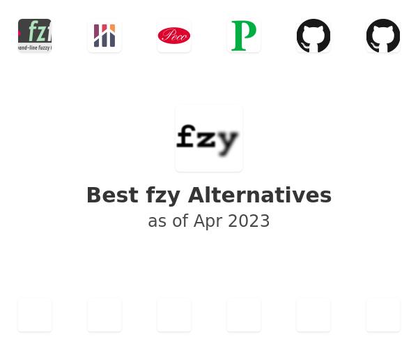 Best fzy Alternatives