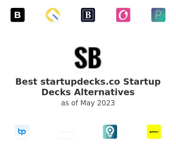 Best Startup Decks Alternatives