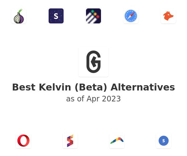 Best Kelvin (Beta) Alternatives