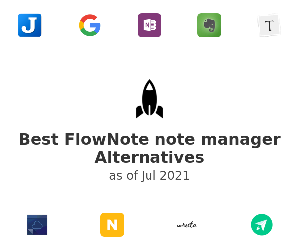 Best FlowNote note manager Alternatives