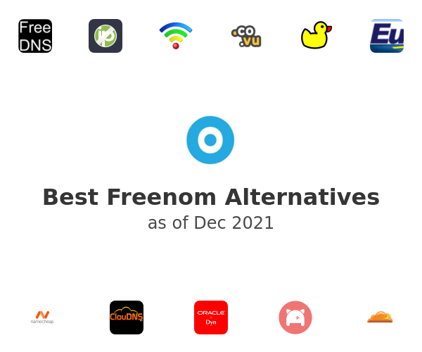 Best Freenom Alternatives