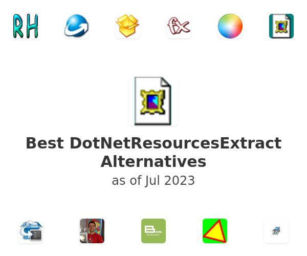 Best DotNetResourcesExtract Alternatives