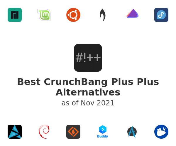 Best CrunchBang Plus Plus Alternatives