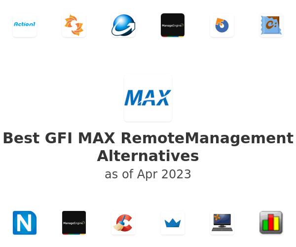 Best GFI MAX RemoteManagement Alternatives