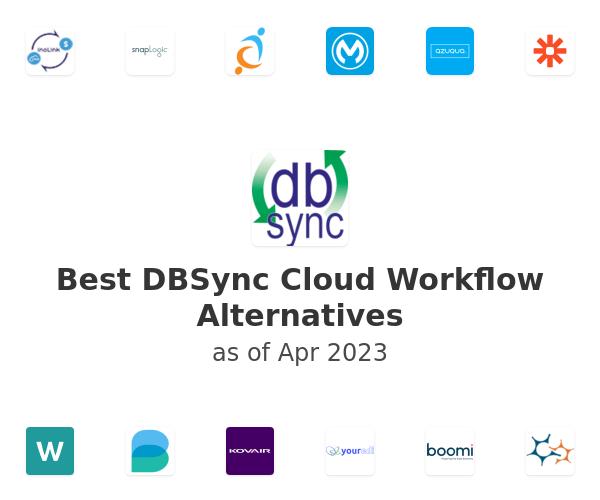 Best DBSync Cloud Workflow - iPaaS Alternatives