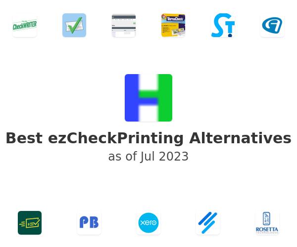Best ezCheckPrinting Alternatives